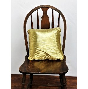 Gold Shiny Pillow