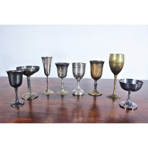 Silver and Gold Assorted Goblet