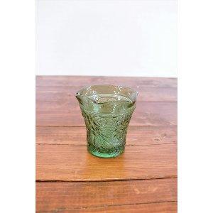 Teal Glass Votive