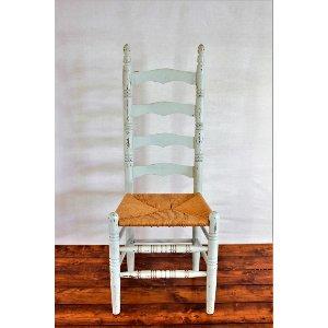 Blue Ladder Chair