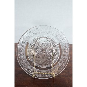 Decorative Glass Platter (2)