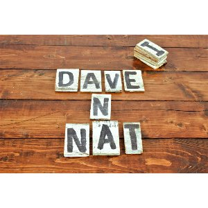 Small Wooden Letters