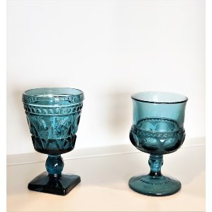 Small Blue Goblet