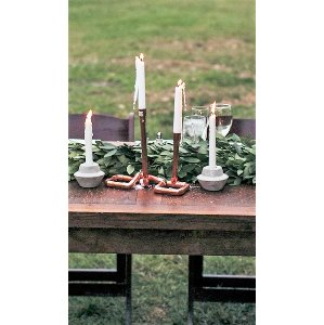 Concrete Candle Holders- Tall
