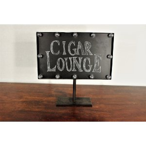 Lighted Chalkboard Sign Stand