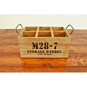 Military Bottle Crate