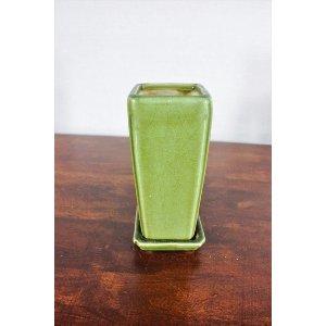 Vintage Green Ceramic Planter/Vase
