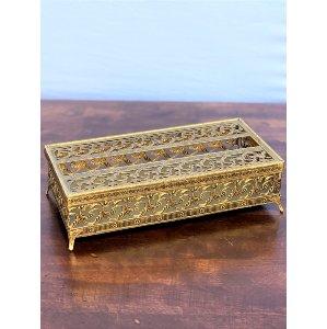 Gold Tissue Holder