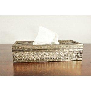 Silver Tissue Holder