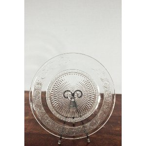 Decorative Glass Platter (3)