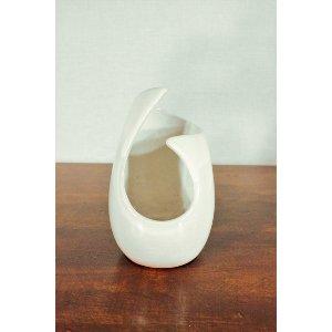 Cream Ceramic Vase