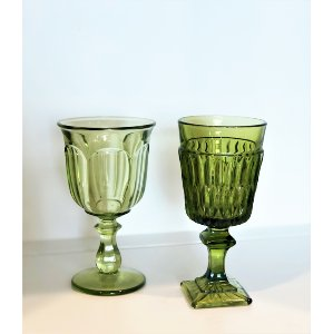 Small Green Goblet