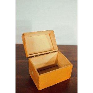 Small Wooden Recipe Box