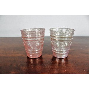 Pink Shimmer Votive Cup