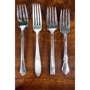 Silver Dessert Fork