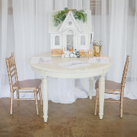 chiavari chair child rose gold