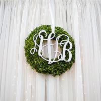 wreaths boxwood