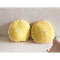 lemon slice pillow