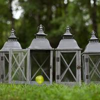 grey lantern