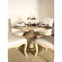 lauren pedestal table
