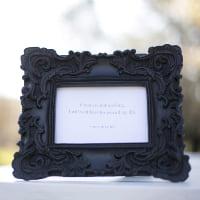 frameblack rococo