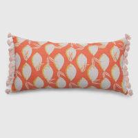 lemon coral pillow