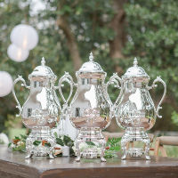 silver beverage urn