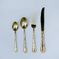 baroque dinner forks