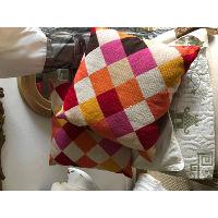 argyle pillow