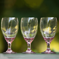 pink/purple wine glass B
