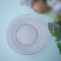 pink dinner plates