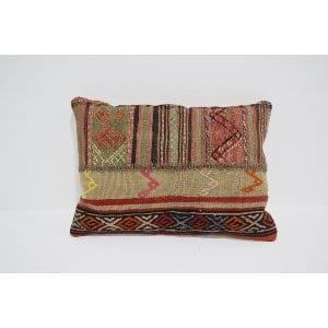boho kilim lumbar pillow #2
