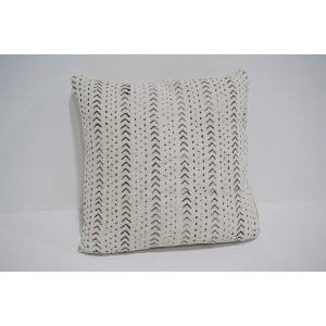 white mud cloth pillow #9
