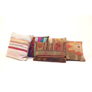 boho pillows {set of 3}