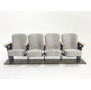 olympia theater seats - grey