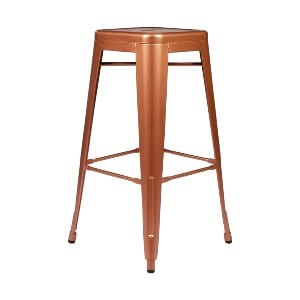 copper remington bar stool