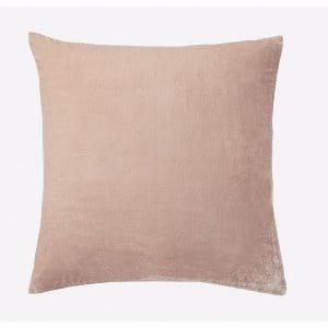 dusty blush velvet pillows {set of 3}