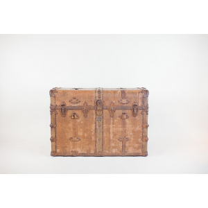 hemingway leather trunk
