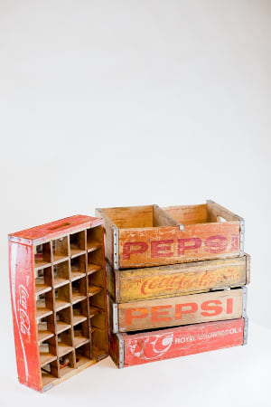 vintage soda crate - single