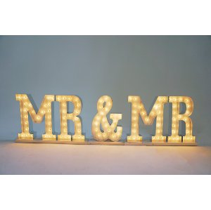 MR & MR marquee