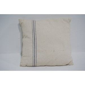 grain sack pillow #1