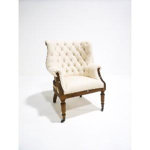 vanderbilt deconstructed chair - ivory