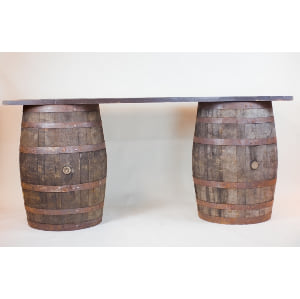 oak barrel bar