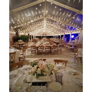 whimsy lighting package - 180' tent