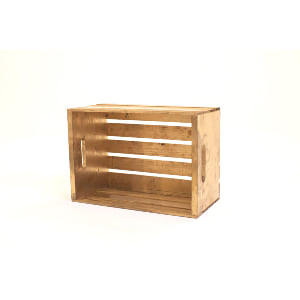 large gold crate