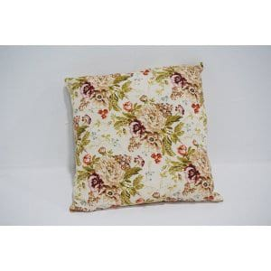 red floral pillow #2