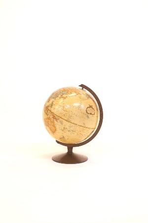 tan globe