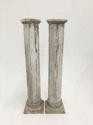 hamilton columns (pair)