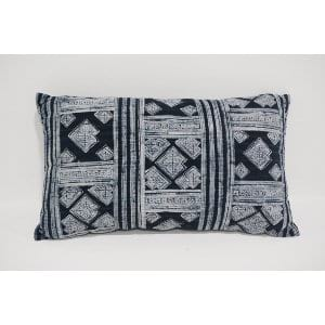 indigo lumbar pillow #1