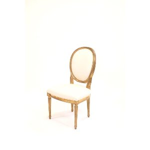 gold estelle chair